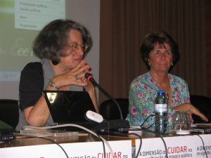 Fernanda Henriques, Fátima Grácio - Sessão de abertura na Universidade de Évora
