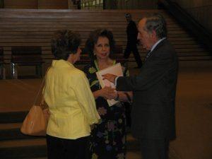 Fundação Calouste Gulbenkian 10 de Julho - Fátima Grácio, Manuela Eanes, General Ramalho Eanes