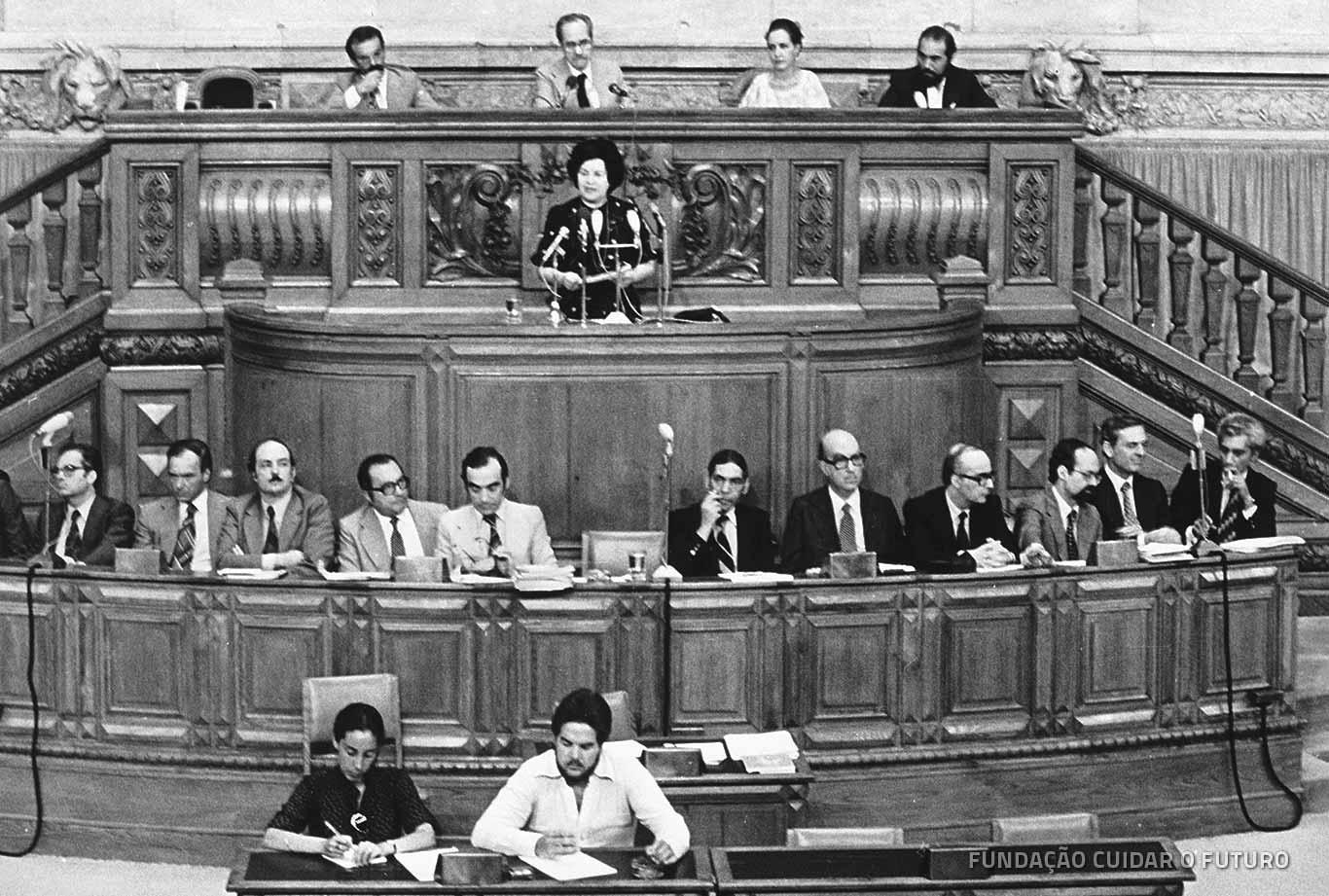 Maria de Lourdes Pintasilgo, Assembleia da República